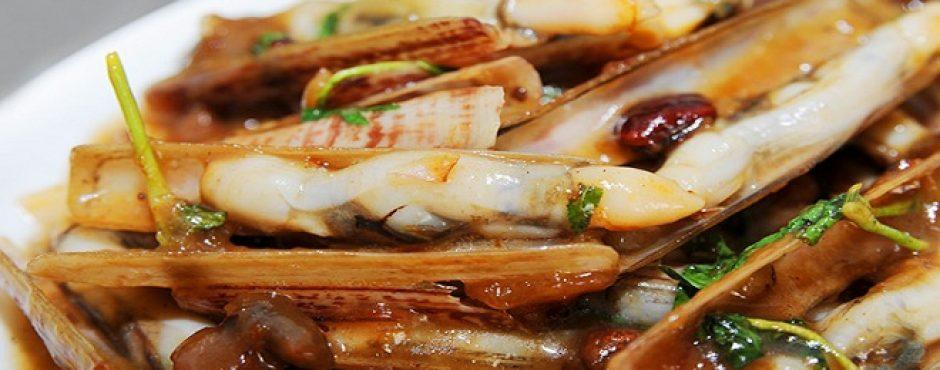 ốc móng tay - đặc sản biển Cô Tô